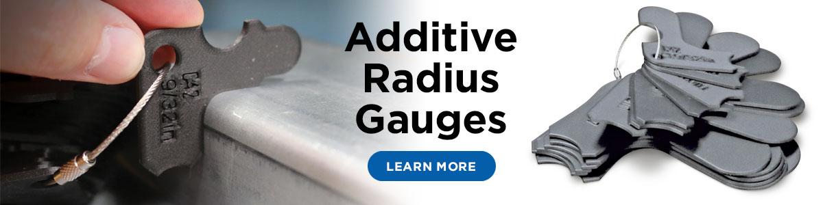 Additive Radius Gauges