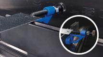 Adjustable Magnetic Gauge in Press Brake