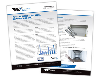 Impax Tool Steels Flyer Preview