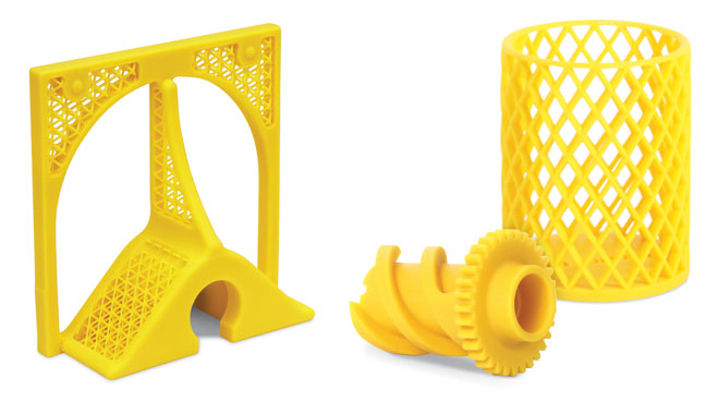 Solv3D Yellow Product Collage