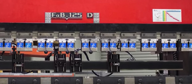 Fixed Height Tooling in Press Brake