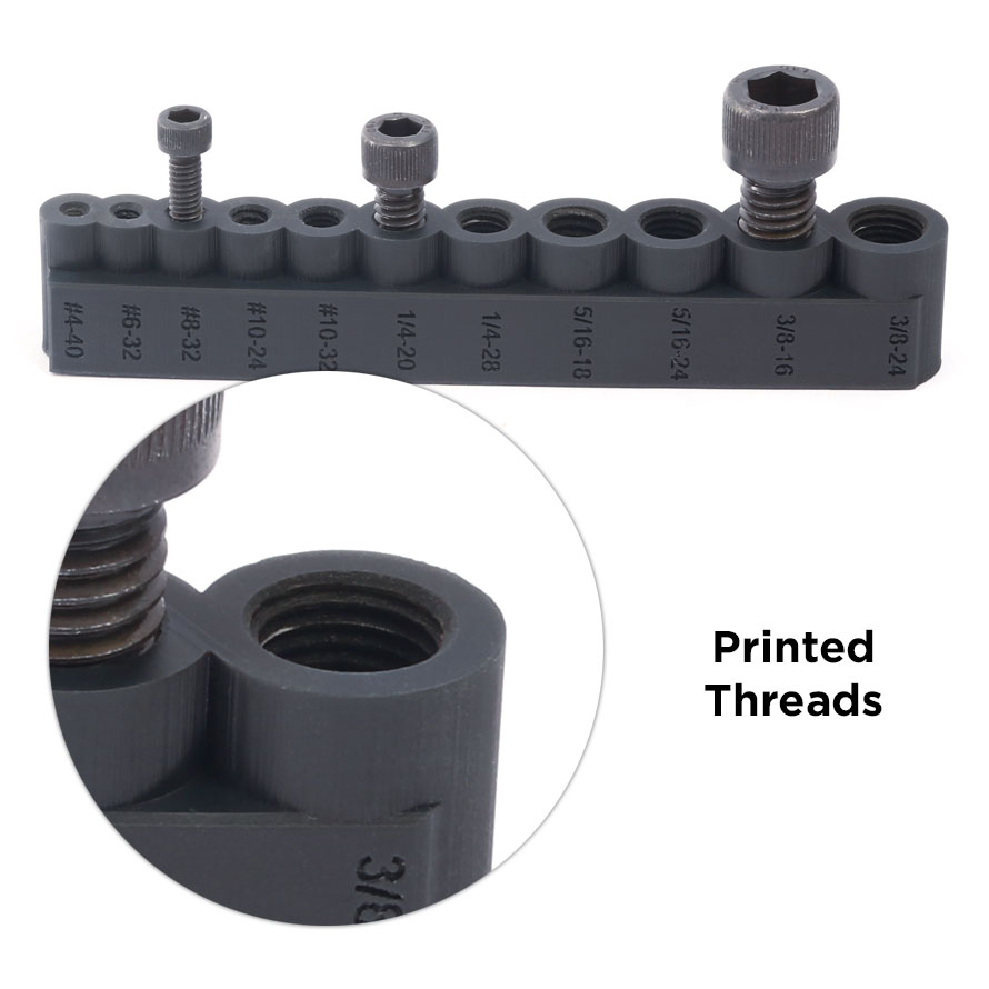 3d printed threads additive