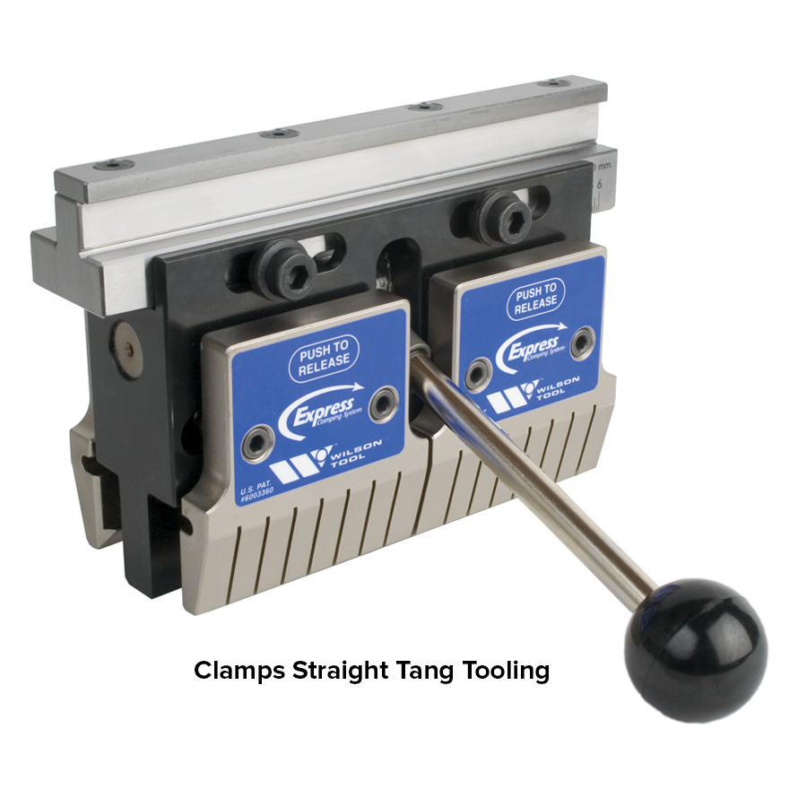 express punch clamp straight tang