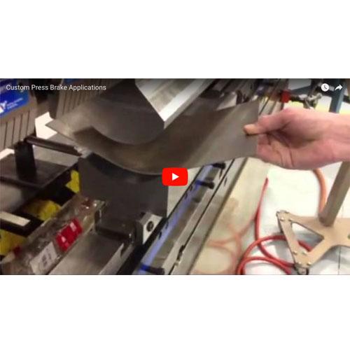 Custom Press Brake Applications Video