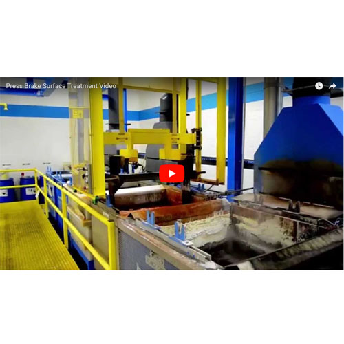 Press Brake Surface Treatments Video