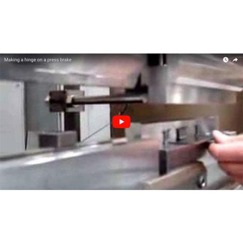 Creating a hinge on a Press Brake Video