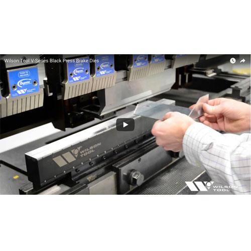 V-Series Black Press Brake Dies Video