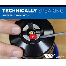 Programmation de l'outil de taraudage QuickTap® / poinçonnage / spécificités