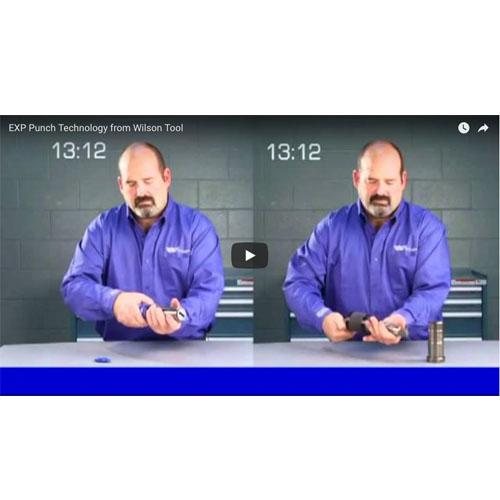 Video Tecnología de Punzones EXP®
