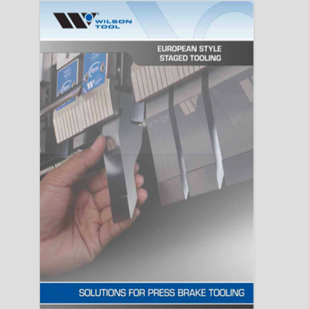 European-Style Staged Tooling Catalog