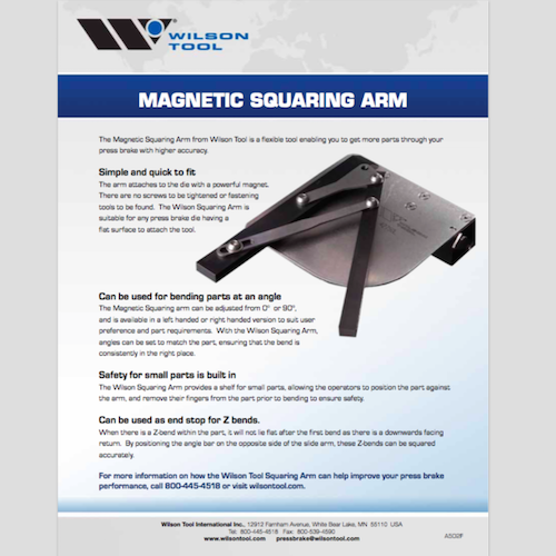 Magnetic Squaring Arm Flyer