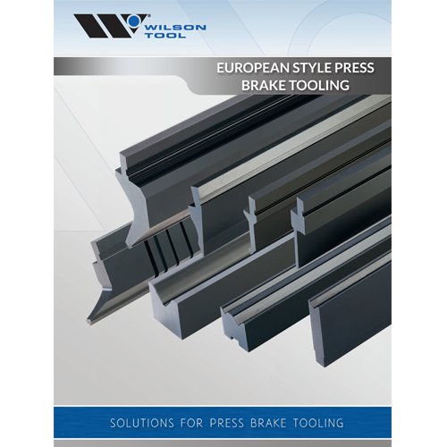 Euro Style Press Brake Tooling Catalogue