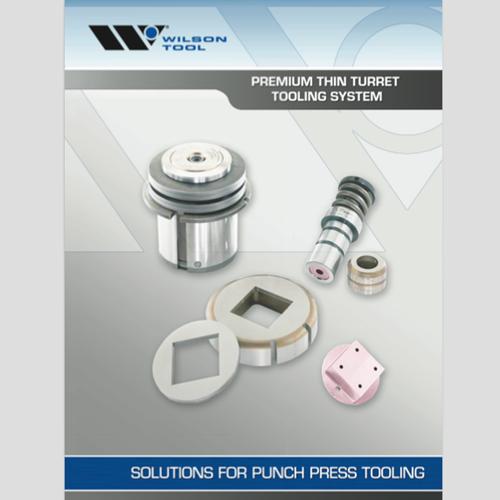 Premium Thin Turret Tooling System Catalog