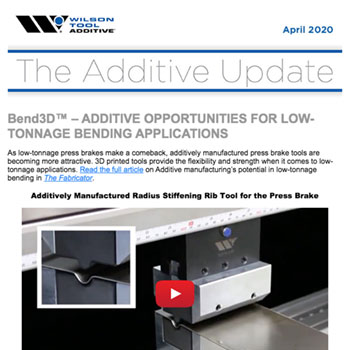 The Additive Update April 2020