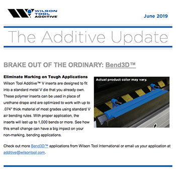 The Additive Update June 2019