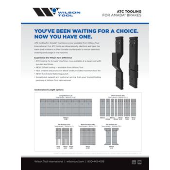ATC Tooling for Amada® Brakes