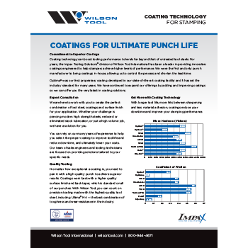Coating Technology Flyer