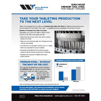 Dura Wear Premium Tool Steel Flyer Thumbnail