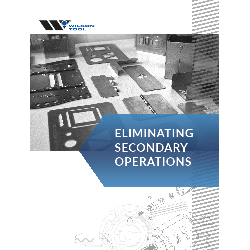 Eliminating Secondary Operations Brochure