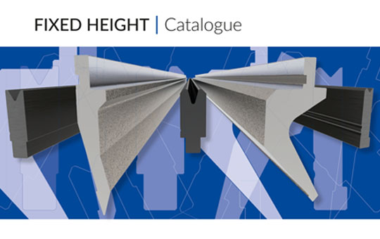 NOW AVAILABLE OUR NEW FIXED HEIGHT TOOLING CATALOGUE