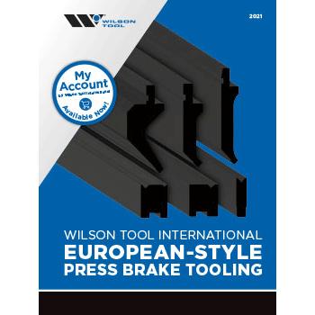 European-Style Press Brake Tooling Catalog