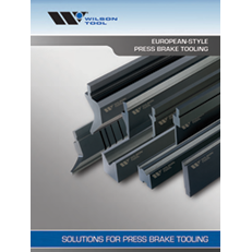 European-Style Press Brake Tooling Catalog