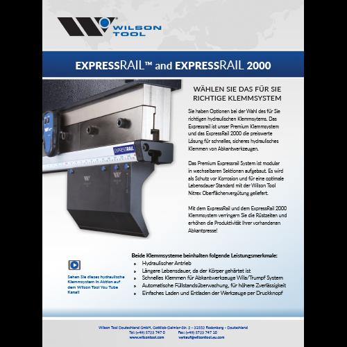 Broschüre  – Expressrail® Spannsystem
