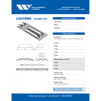 Louvers Template