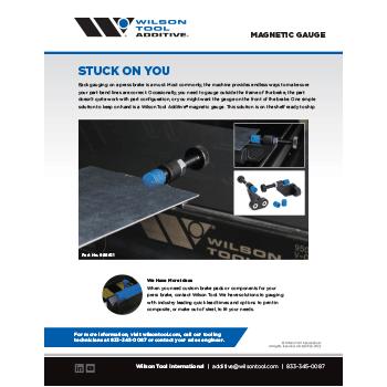 Magnetic Back Gauge Flyer