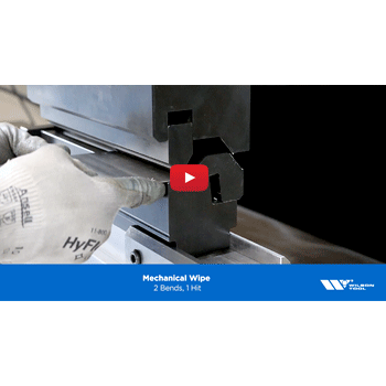 Mechanical Wipe Press Brake Application