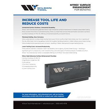 Nitrex® Surface Enhancement Flyer