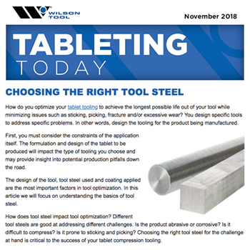 Tableting Today e-Newsletter November 2018