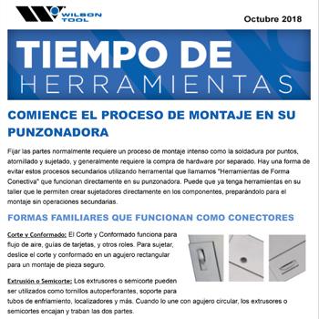 Tiempo de Herramientas e-Newsletter Octubre 2018