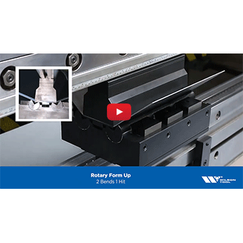 Rotary Tool Form Up Press Brake Video Preview