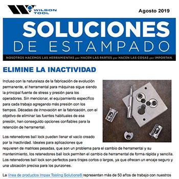 Soluciones de Estampado Agosto 2019