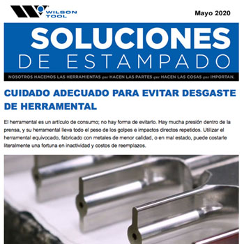 Soluciones de Estampado – Mayo 2020