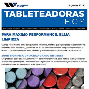 Tableteadoras Hoy Agosto 2019