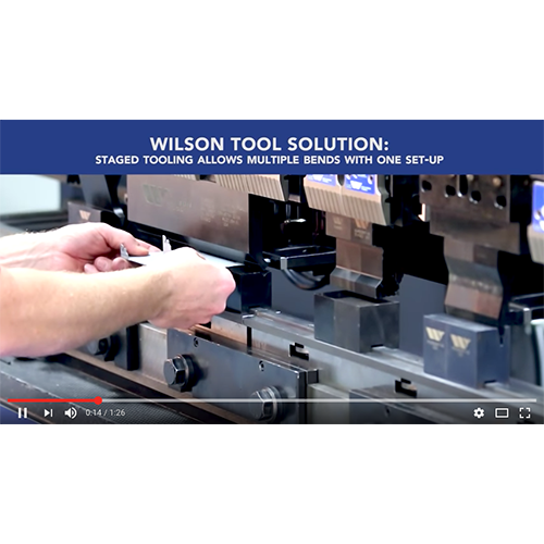 Staged Tooling Video