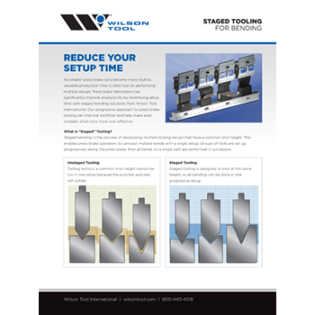 Staged Tooling Flyer