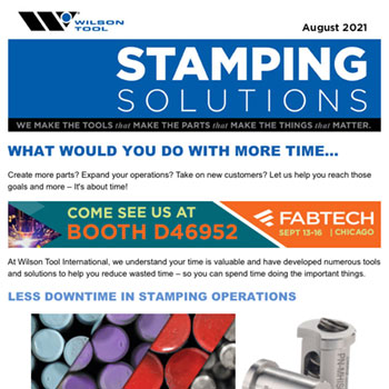 Stamping Solutions August 2021