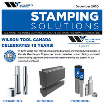 Stamping Solutions e-Newsletter December 2020