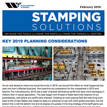 Stamping Solutions February 2019