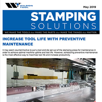 Stamping Solutions e-Newsletter May 2019