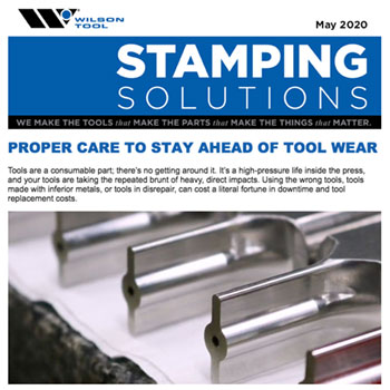 Stamping Solutions e-Newsletter May 2020