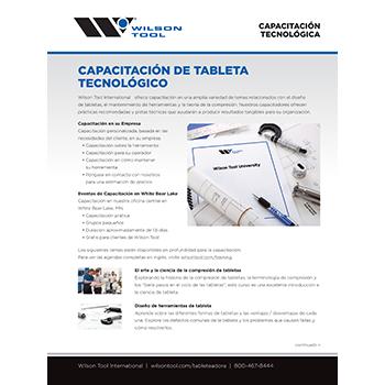 Capacitación de Tableta Tecnológica
