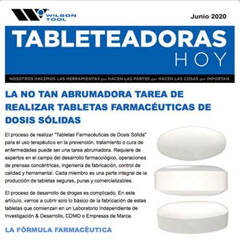 Tableteadoras Hoy Junio 2020