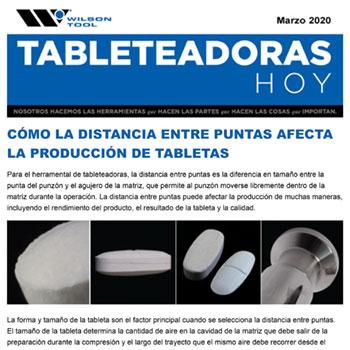 Tableteadoras Hoy Marzo 2020