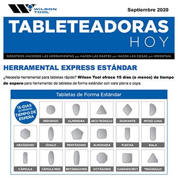 Tableteadoras Hoy Septiembre 2020