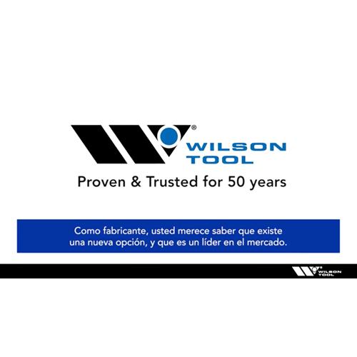 Tabla de Wilson Tool International Una nueva opción-Español.