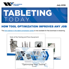 Tableting Today e-Newsletter July 2018